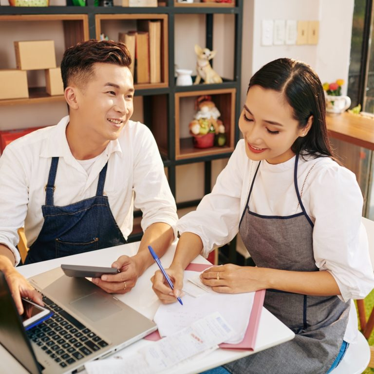 Calculating small business owners